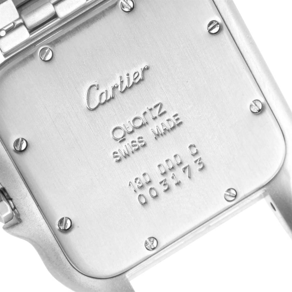 16262 Cartier Panthere Jumbo Stainless Steel Unisex Watch W25032P5 SwissWatchExpo