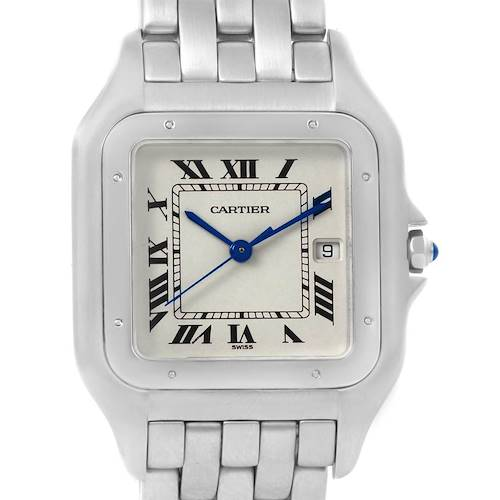 Photo of Cartier Panthere Jumbo Stainless Steel Quartz Unisex Watch W25032P5