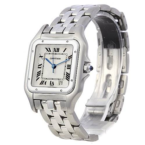 2066 Cartier Panthere Large Ss Watch W25054p5 Watch SwissWatchExpo