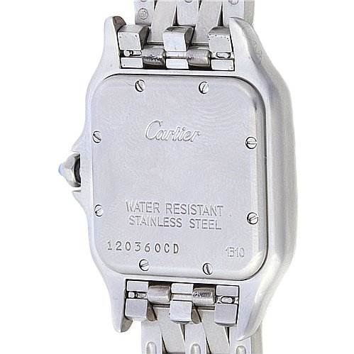 Cartier Panthere Large Ss Watch W25054p5 Watch SwissWatchExpo