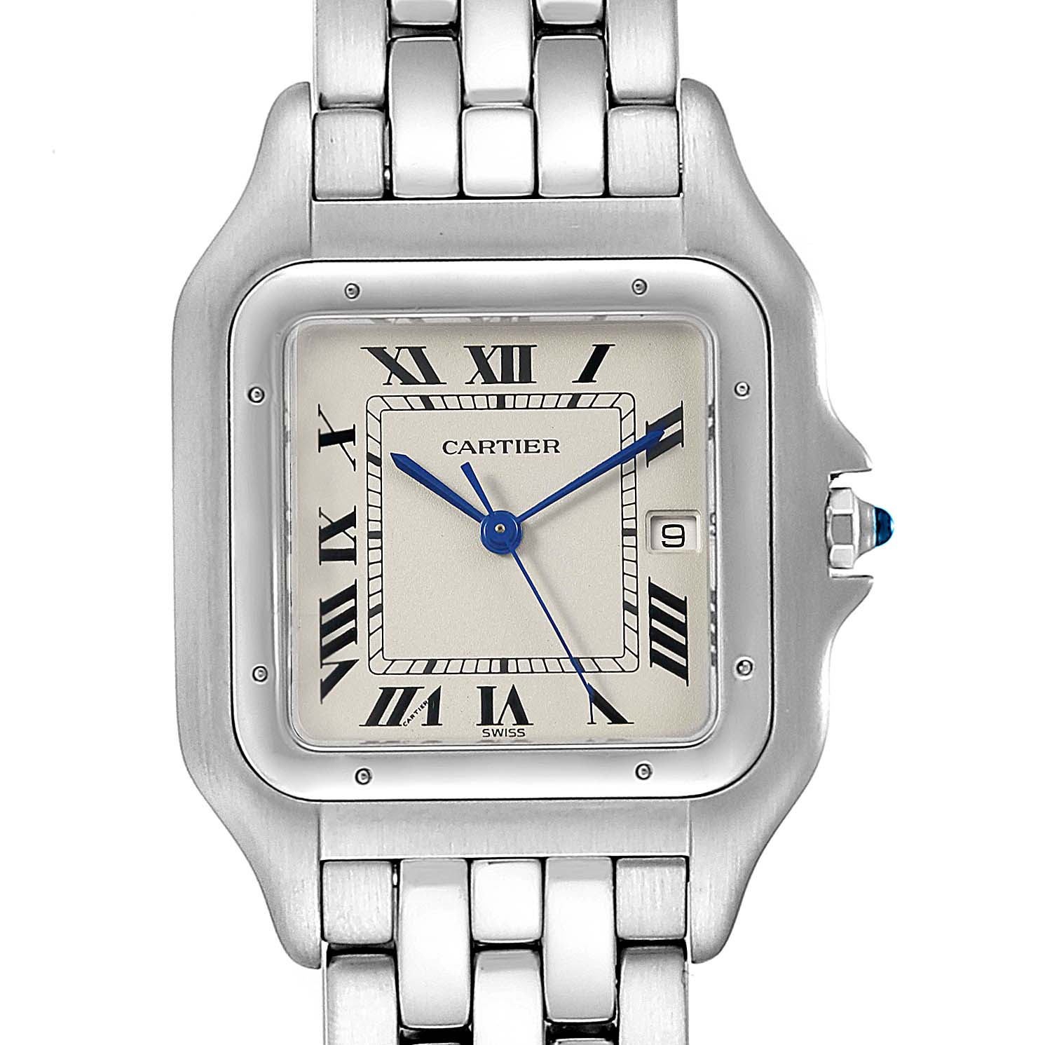 Cartier Panthere Jumbo Stainless Steel Unisex Watch W25032P5
