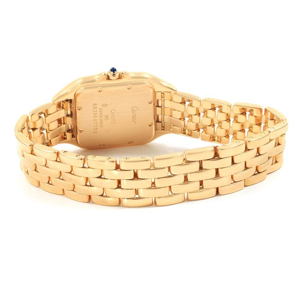 Cartier Panthere Large 18K Yellow Gold Unisex Watch SwissWatchExpo