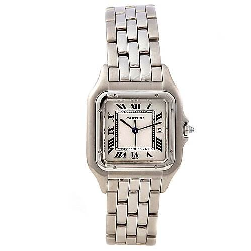 2270 Cartier Panthere Jumbo Stainless Steel Watch  SwissWatchExpo