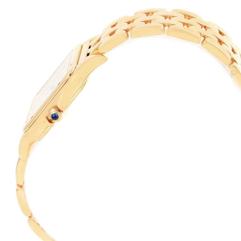 Cartier Panthere XL 18K Yellow Gold Unisex Watch W25014B9 SwissWatchExpo