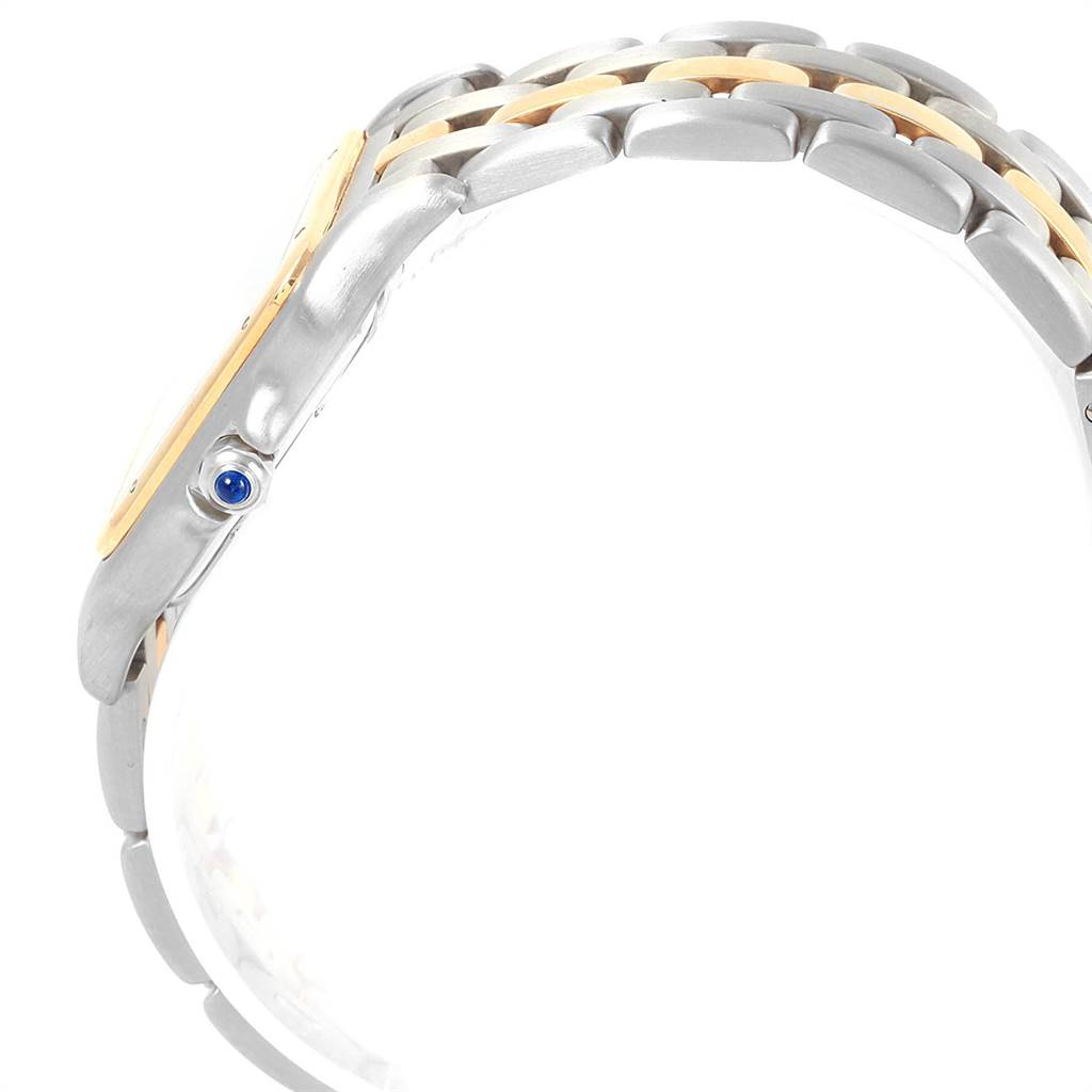 21222 Cartier Panthere Steel 18K Yellow Gold Unisex Watch W25028B5 SwissWatchExpo