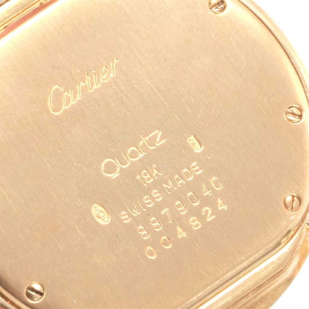 Cartier Cougar Steel Midsize 18K Yellow Gold Unisex Watch 887904C SwissWatchExpo