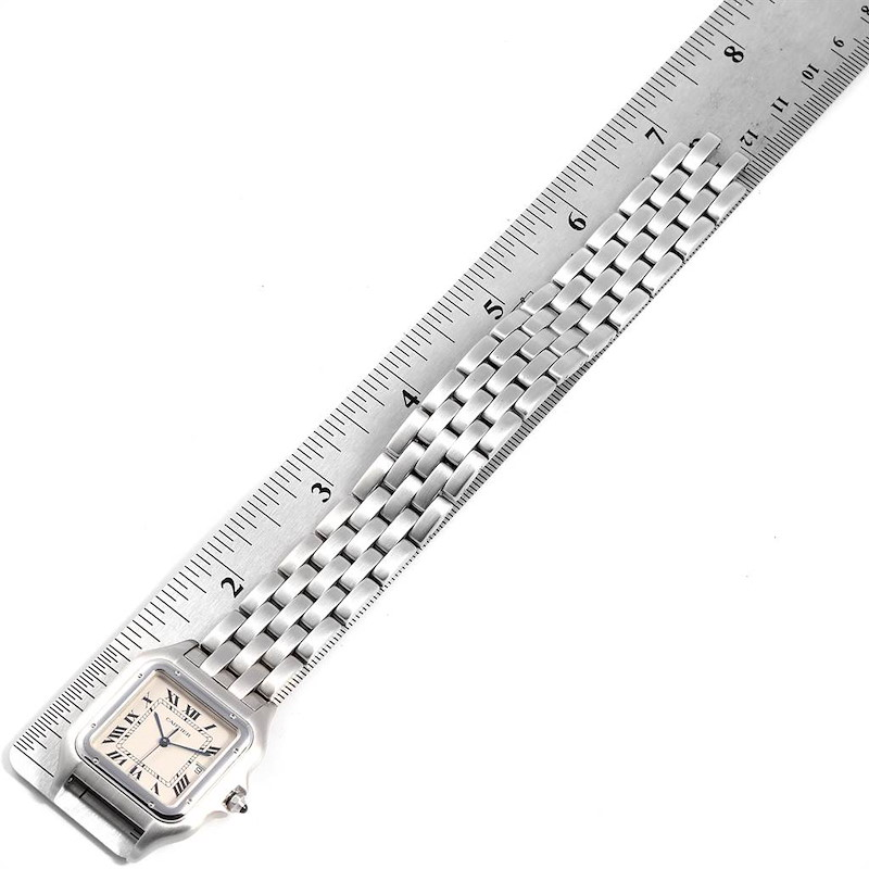 Cartier Panthere Jumbo 29mm Stainless Steel Mens Watch W25032P5 SwissWatchExpo