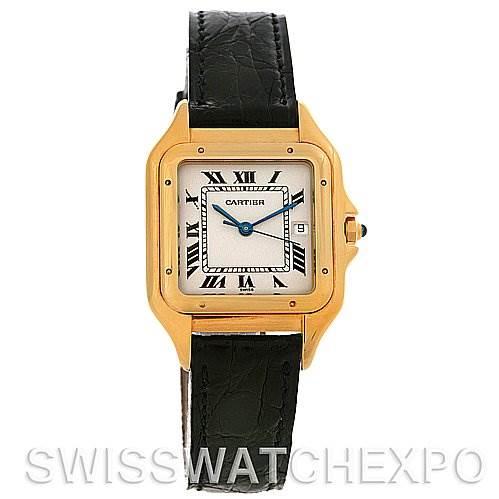 2617 Cartier  Panthere Jumbo 18K Yellow Gold Watch Unworn NOS SwissWatchExpo