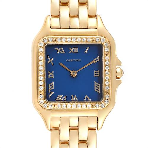 Photo of Cartier Panthere XL 18K Yellow Gold Diamond Unisex Watch W25014B9