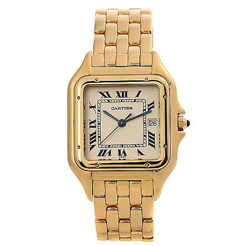 Cartier Panthere X-LARGE 18k Yellow Gold Watch SwissWatchExpo