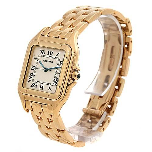 cartier panthere x large 18k yellow gold