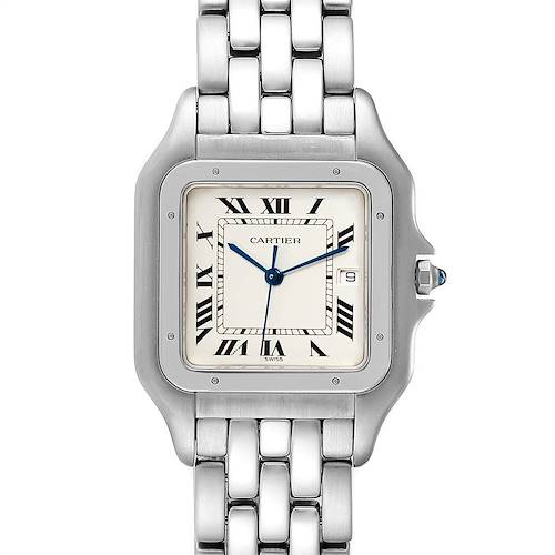 Photo of Cartier Panthere Jumbo 29mm Stainless Steel Mens Watch W25032P5