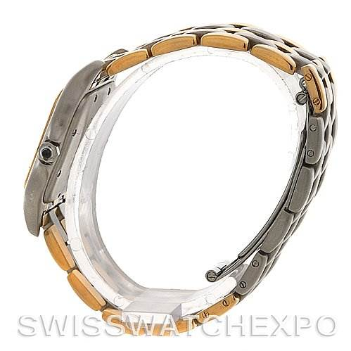 2497 Cartier  Panthere Large SS & 18k Y Gold Three Row Watch SwissWatchExpo