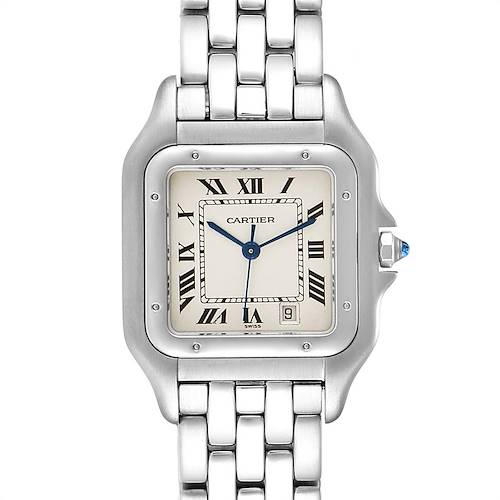 Photo of Cartier Panthere Large Stainless Steel Unisex Watch W25054P5