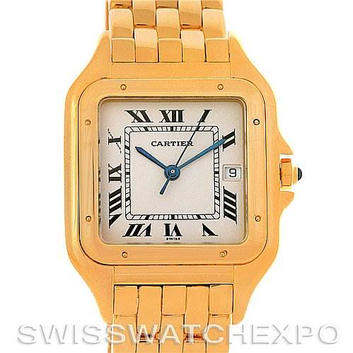 2832 Cartier Panthere X-Large 18k Yellow Gold Watch SwissWatchExpo