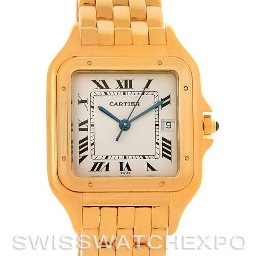 Photo of Cartier Panthere X-Large 18k Yellow Gold Watch