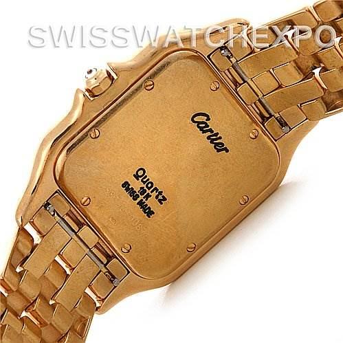 Cartier Panthere Jumbo 18K Yellow Gold Diamond Watch SwissWatchExpo
