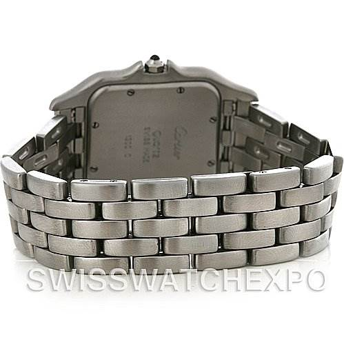 2847 Cartier Panthere Jumbo Stainless Steel Watch W25032P5 SwissWatchExpo