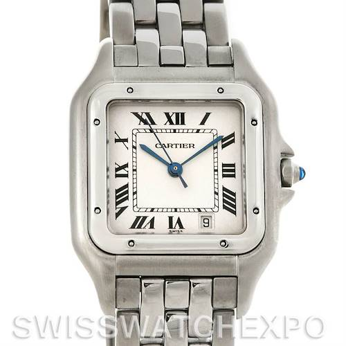 Photo of Cartier Panthere Large Stainless Steel Watch W25054P5