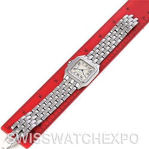 4256 Cartier Panthere Jumbo Stainless Steel Watch W25032P5 SwissWatchExpo