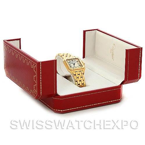 Cartier Panthere X-Large 18k Yellow Gold Watch W25014B9 SwissWatchExpo