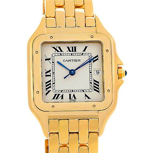 5032 Cartier Panthere X-Large 18k Yellow Gold Watch W25014B9 SwissWatchExpo