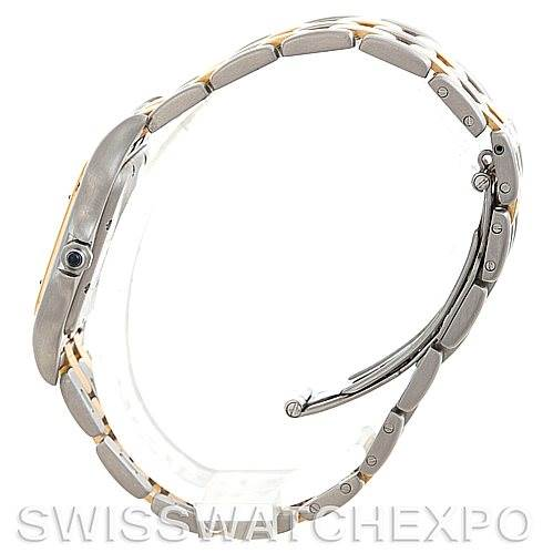 5549 Cartier Panthere Large Steel 18K Yellow Gold Watch W25028B6 SwissWatchExpo