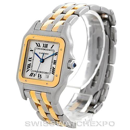 Cartier Panthere Large Steel 18K Yellow Gold Watch W25028B6 SwissWatchExpo