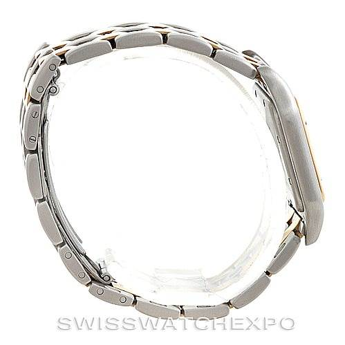 6065 Cartier Panthere Large Steel 18K Yellow Gold Watch W25028B6 SwissWatchExpo
