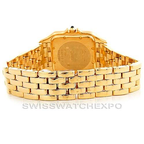 6254 Cartier Panthere XL 18k Yellow Gold Watch W25014B9 SwissWatchExpo