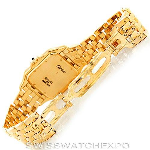 6262 Cartier Panthere Jumbo 18K Yellow Gold Watch SwissWatchExpo