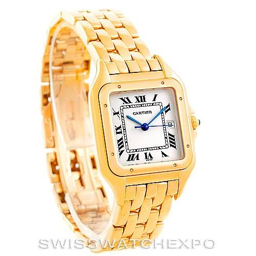 6509 Cartier Panthere XL 18k Yellow Gold Watch W25014B9 SwissWatchExpo