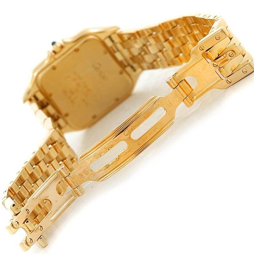 6822 Cartier Panthere XL 18k Yellow Gold Watch W25014B9 SwissWatchExpo