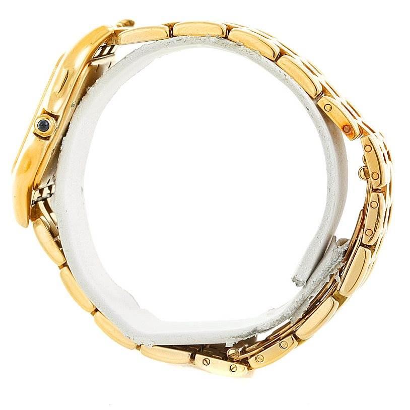 6884 Cartier Panthere XL 18k Yellow Gold Watch W25014B9 SwissWatchExpo