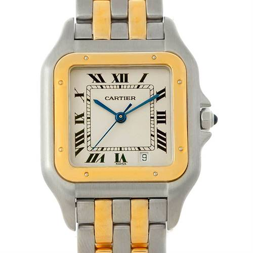 Photo of Cartier Panthere Large Steel 18K Yellow Gold Watch W25028B6