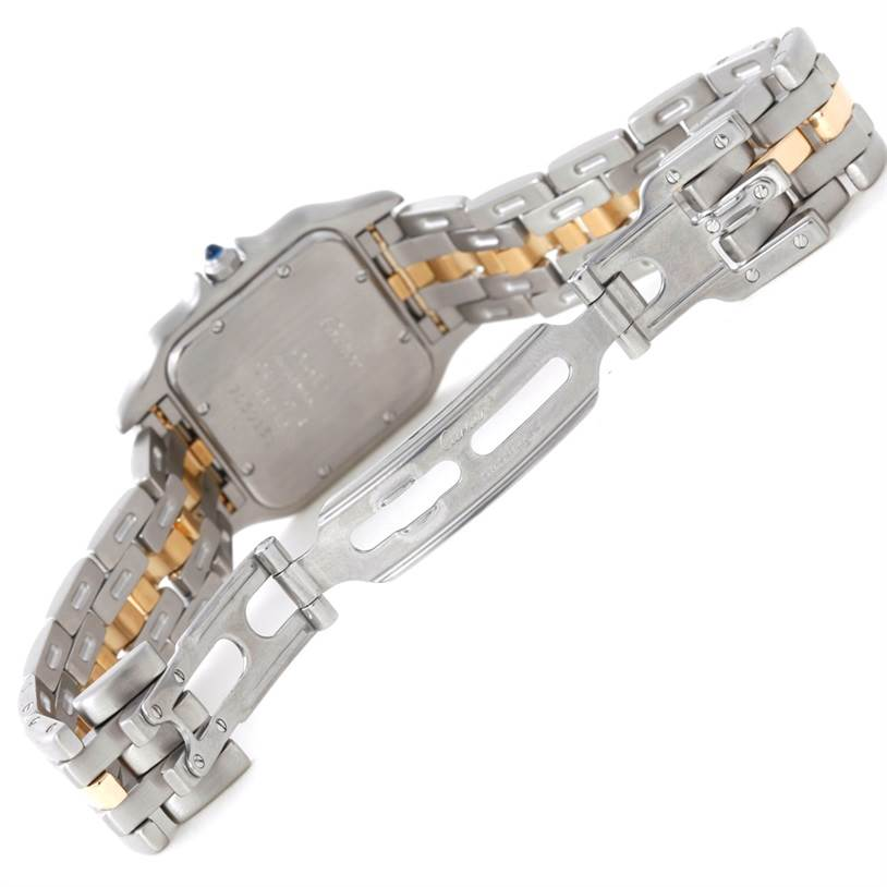 Cartier Panthere Large Steel 18K Yellow Gold Watch W25028B5 SwissWatchExpo
