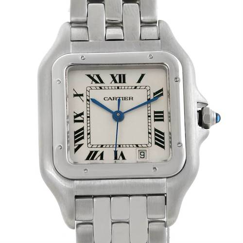 Photo of Cartier Panthere Stainless Steel Large Watch W25054P5