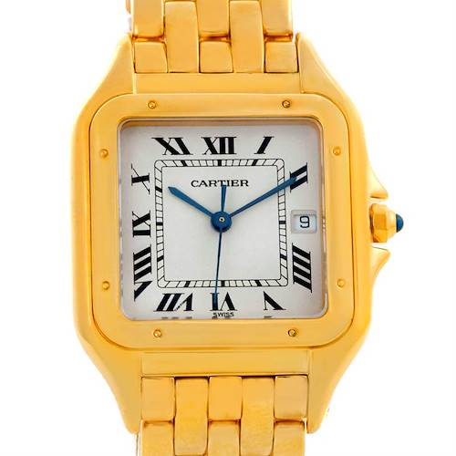Photo of Cartier Panthere XL 18K Yellow Gold Date Watch W25014B9