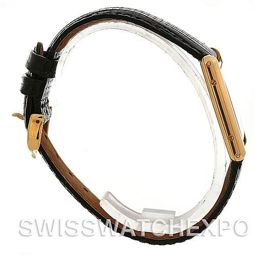 2572 Cartier Tank Classic 18k Yellow Gold Quartz Watch SwissWatchExpo