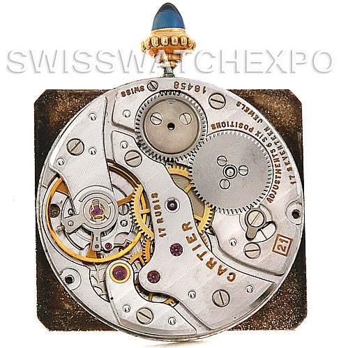 4811 Cartier Tank Classic 18k Yellow Gold Mechanical Watch SwissWatchExpo