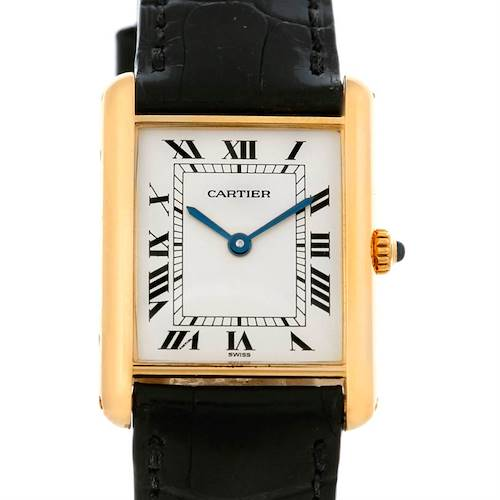 Photo of Cartier Tank Classic 18k Yellow Gold Quartz Watch