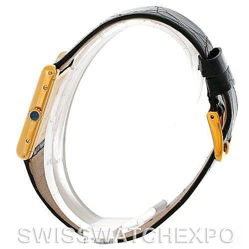 5257 Cartier Tank Classic 18k Yellow Gold Mechanical Watch SwissWatchExpo