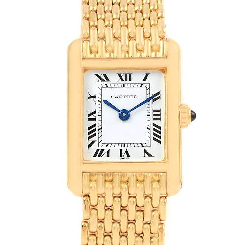 Photo of Cartier Tank Classic Paris 18k Yellow Gold Ladies Watch