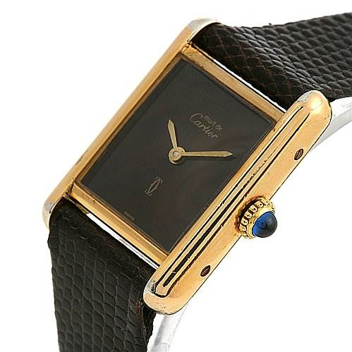 2476 Cartier Tank Classic Ladies Must De Cartier Gp Watch SwissWatchExpo
