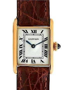 Photo of Cartier Tank Classic Ladies 18k Yellow Gold Watch
