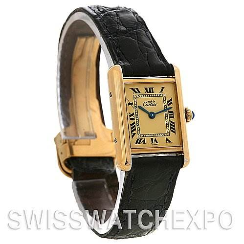 2559 Cartier Tank Classic Ladies Must De Cartier GP Watch SwissWatchExpo