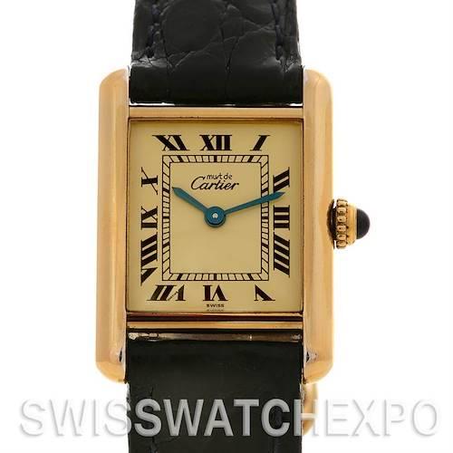 Photo of Cartier Tank Classic Ladies Must De Cartier GP Watch