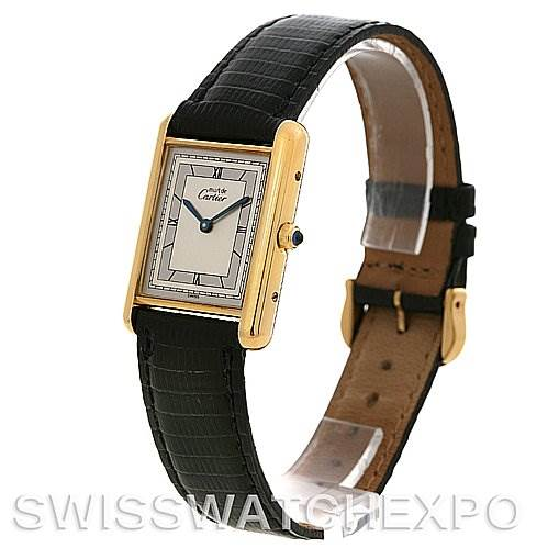 2692 Cartier Tank Classic Gold Plated Unisex Watch SwissWatchExpo