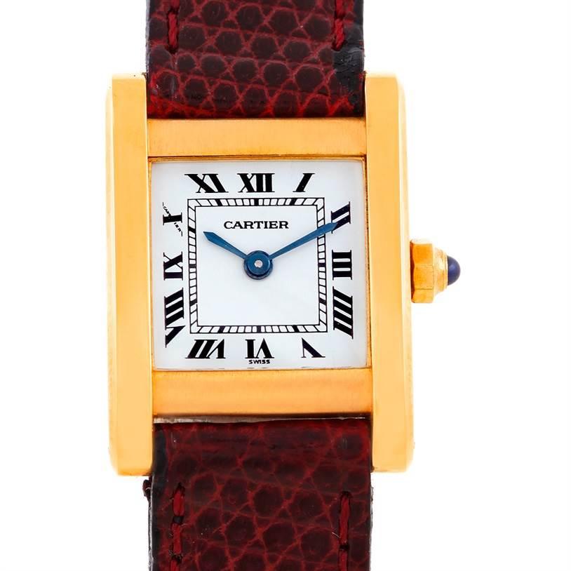 6910 Cartier Chinoise Ladies 18k Yellow Gold Quartz Watch SwissWatchExpo