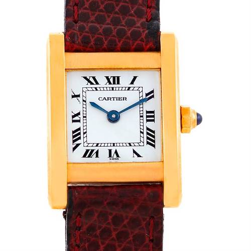 Photo of Cartier Chinoise Ladies 18k Yellow Gold Quartz Watch